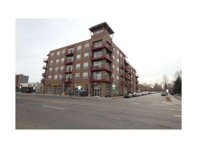 1488 Madison Street #404, Denver, CO 80206 (MLS #9655171) :: 8z Real Estate