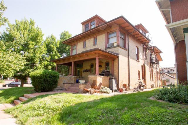 1580 Vine Street, Denver, CO 80206 (#9658359) :: Bring Home Denver