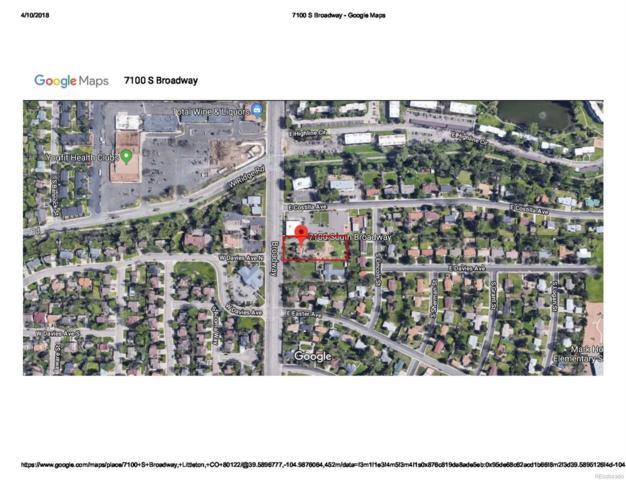 7100 S Broadway, Littleton, CO 80122 (#9659479) :: The Peak Properties Group