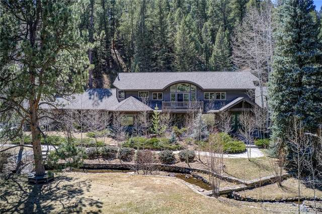 33904 Upper Bear Creek Road, Evergreen, CO 80439 (MLS #9659697) :: The Sam Biller Home Team