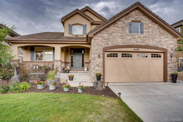 14103 Double Dutch Circle, Parker, CO 80134 (#9660157) :: The HomeSmiths Team - Keller Williams