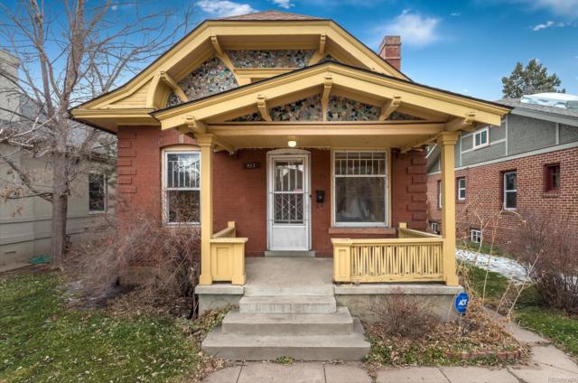 922 S Clarkson Street, Denver, CO 80209 (#9660978) :: Wisdom Real Estate