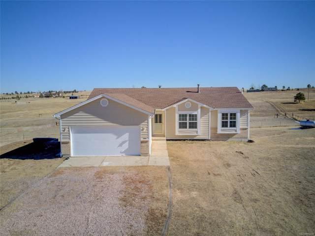 16845 High Tree Drive, Elbert, CO 80106 (#9664057) :: Colorado Home Finder Realty
