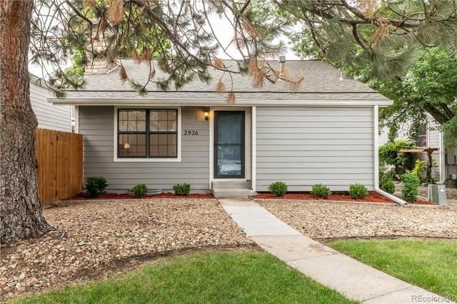 2926 S Revere Street, Aurora, CO 80014 (#9672620) :: Finch & Gable Real Estate Co.