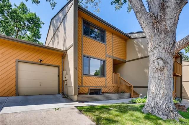12655 W Bayaud Avenue #43, Lakewood, CO 80228 (MLS #9675040) :: Stephanie Kolesar