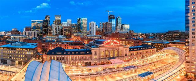 1750 Wewatta Street #707, Denver, CO 80202 (#9676494) :: The Peak Properties Group