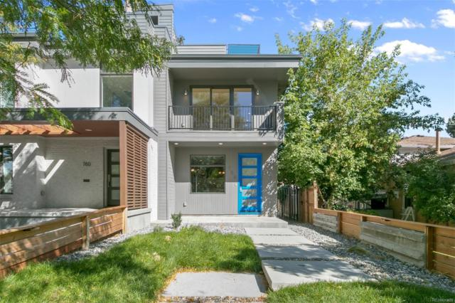 758 Elm Street, Denver, CO 80220 (#9676956) :: The Heyl Group at Keller Williams