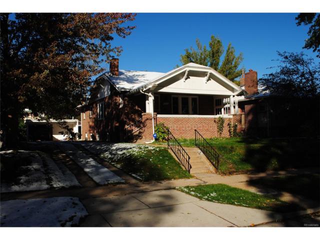 2261 Glencoe Street, Denver, CO 80207 (#9679213) :: House Hunters Colorado