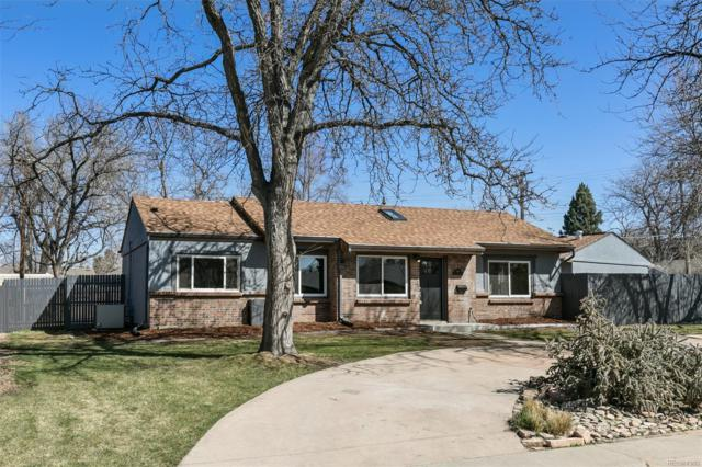 2990 S Cherry Way, Denver, CO 80222 (#9681549) :: Group 46:10 - Denver