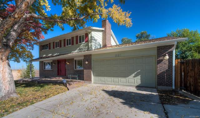 881 Altair Drive, Littleton, CO 80124 (#9683892) :: Colorado Home Finder Realty