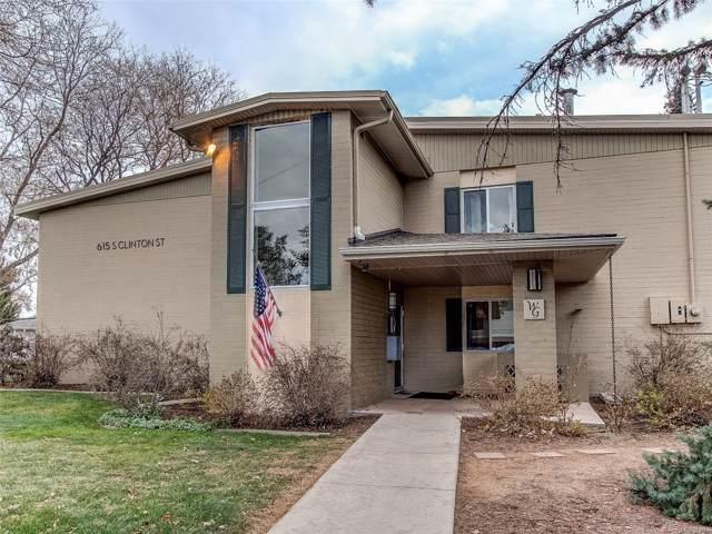 615 S Clinton Street 6B, Denver, CO 80247 (#9688887) :: The Healey Group
