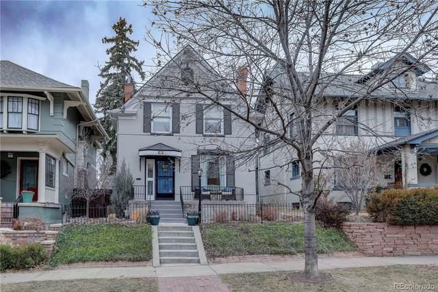 669 N Lafayette Street, Denver, CO 80218 (#9691982) :: The Gilbert Group