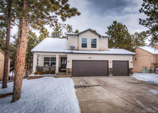 1430 Evergreen Heights Drive, Woodland Park, CO 80863 (#9695340) :: The Peak Properties Group