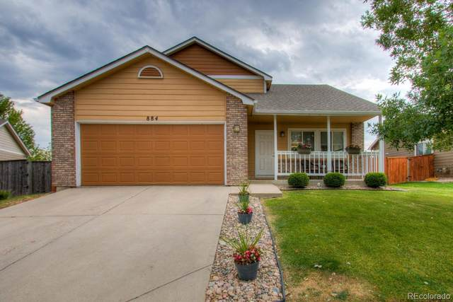 884 Kaitlyn Circle, Loveland, CO 80537 (MLS #9695375) :: Bliss Realty Group