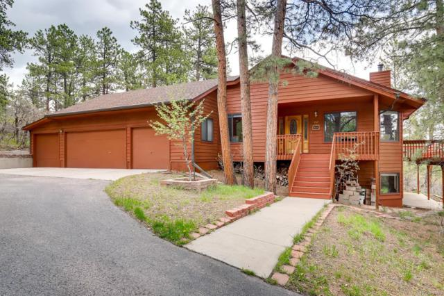 767 Tenderfoot Drive, Larkspur, CO 80118 (#9704983) :: The HomeSmiths Team - Keller Williams
