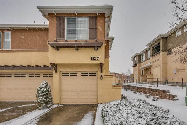 837 E 98th Avenue #410, Thornton, CO 80229 (MLS #9705200) :: 8z Real Estate