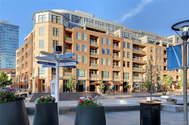 1610 Little Raven Street #412, Denver, CO 80202 (MLS #9706112) :: 8z Real Estate