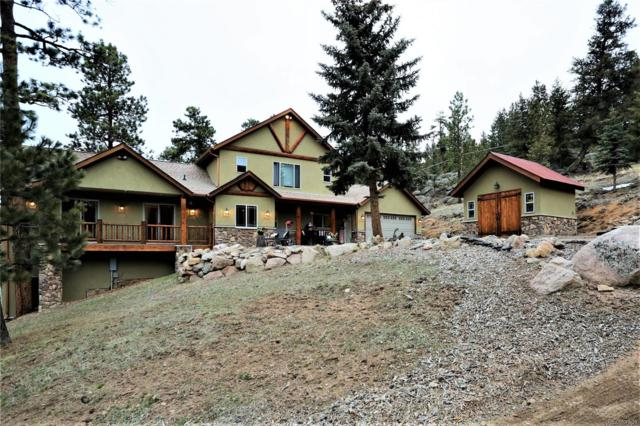 6192 Little Cub Creek Road, Evergreen, CO 80439 (#9707241) :: The Healey Group