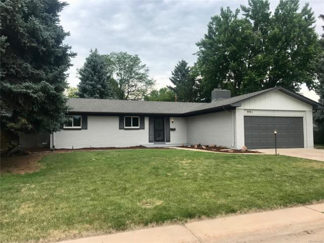 991 E Cottonwood Avenue, Centennial, CO 80121 (#9711361) :: The DeGrood Team