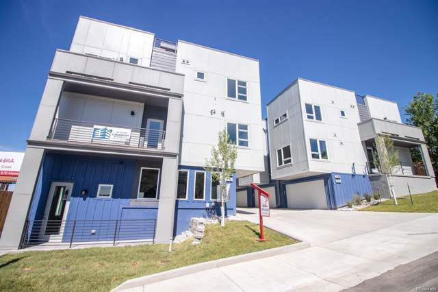 445 S Forest Street #6, Denver, CO 80246 (#9713430) :: My Home Team