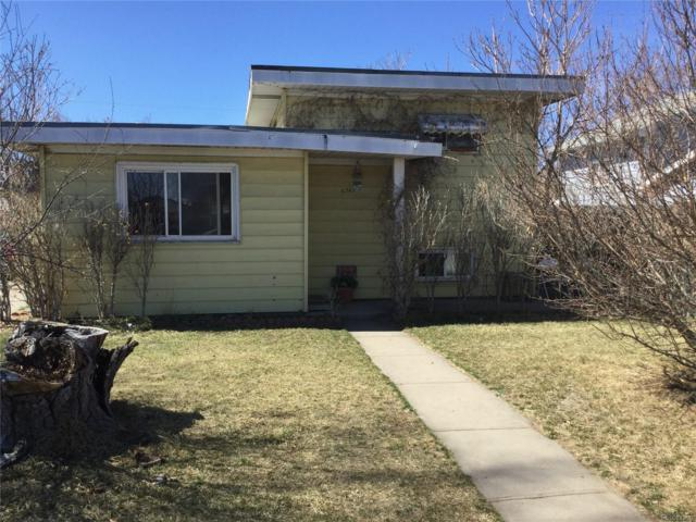 6741 Clermont Street, Commerce City, CO 80022 (#9720999) :: The Peak Properties Group
