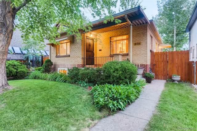 1934 S Washington Street, Denver, CO 80210 (#9721995) :: Finch & Gable Real Estate Co.