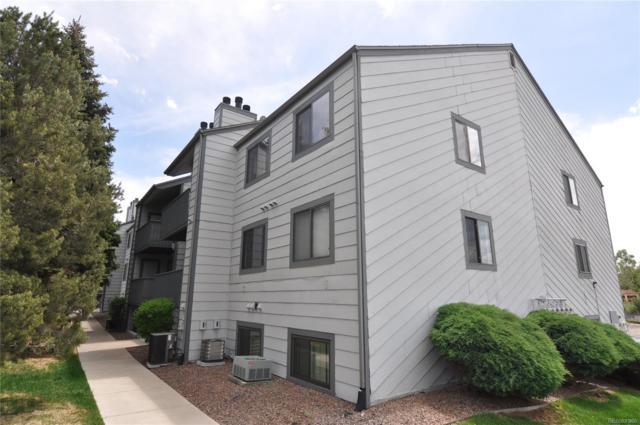 10872 W Evans Avenue 3F, Lakewood, CO 80227 (#9723694) :: The Peak Properties Group