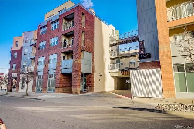 2550 Washington Street #211, Denver, CO 80205 (#9727243) :: The Griffith Home Team