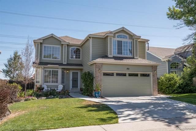 192 S Carlton Street, Castle Rock, CO 80104 (#9731325) :: The HomeSmiths Team - Keller Williams