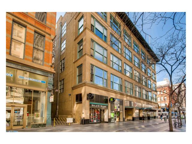 720 16th Street #207, Denver, CO 80202 (#9732070) :: The Peak Properties Group