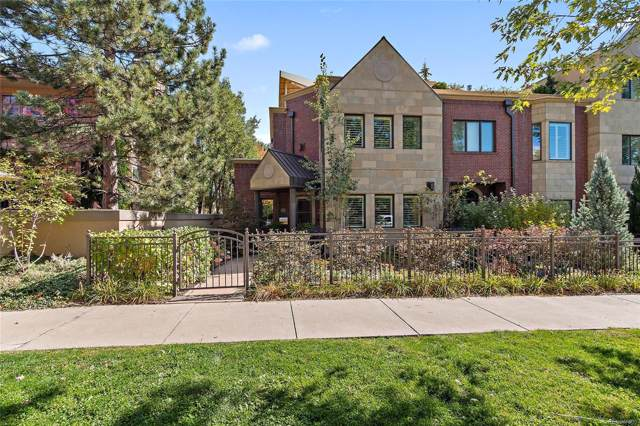444 Madison Street, Denver, CO 80206 (#9736478) :: House Hunters Colorado