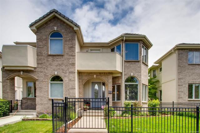 252 S Monroe Street, Denver, CO 80209 (#9736688) :: The Peak Properties Group