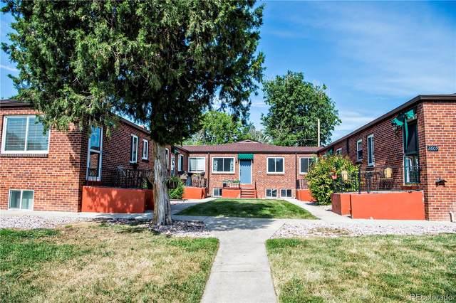 1601 Vrain Street #7, Denver, CO 80204 (#9741031) :: West + Main Homes