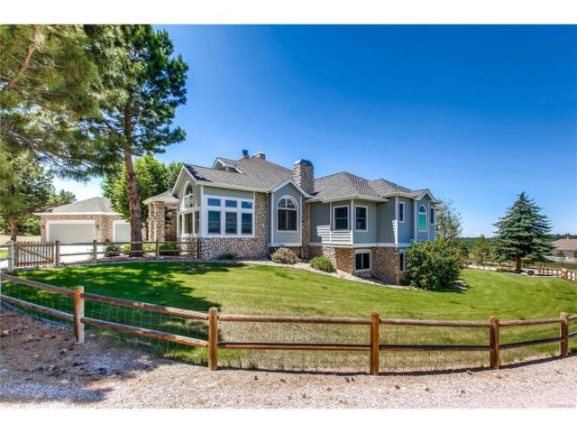 381 Red Deer Road, Franktown, CO 80116 (MLS #9748288) :: 8z Real Estate
