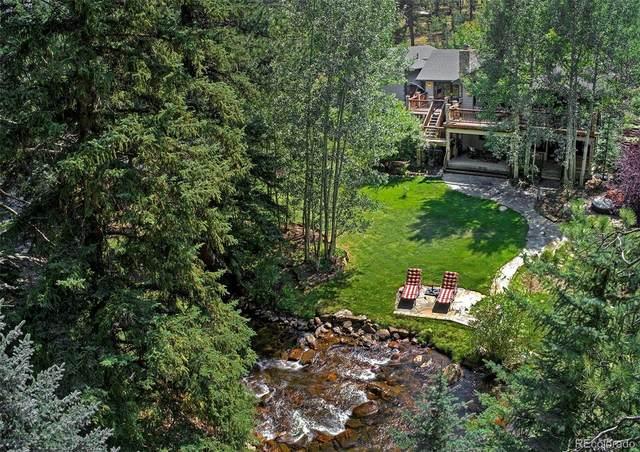 34523 Upper Bear Creek Road, Evergreen, CO 80439 (MLS #9749674) :: Stephanie Kolesar