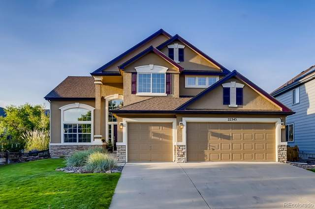 22345 Eagle Run Lane, Parker, CO 80138 (#9751953) :: Chateaux Realty Group