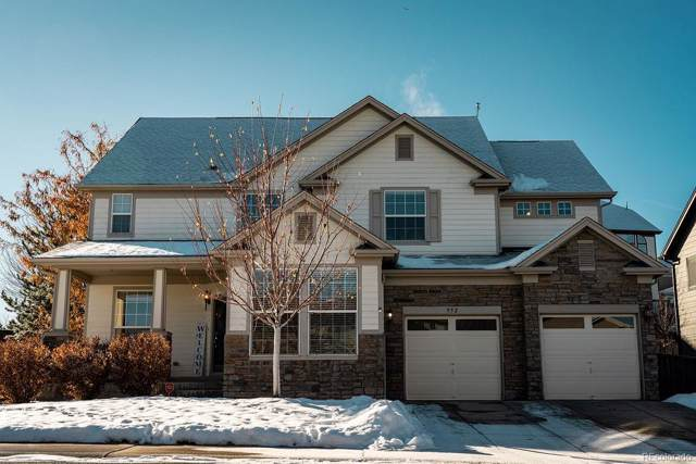 952 Millbrook Circle, Castle Rock, CO 80109 (MLS #9754307) :: Keller Williams Realty