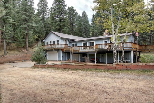 5980 Cliff Road, Evergreen, CO 80439 (#9754399) :: The City and Mountains Group