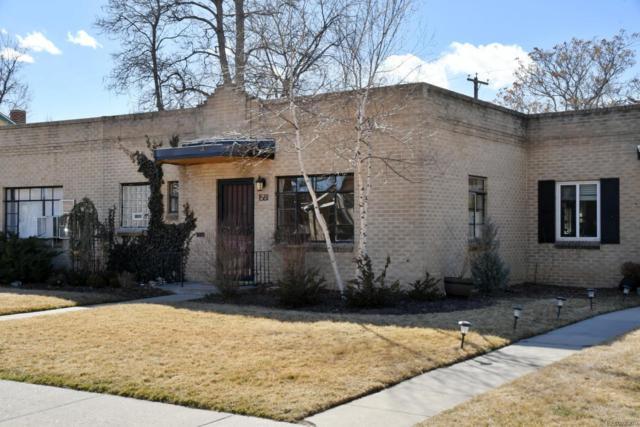 1581 Fairfax Street, Denver, CO 80220 (#9760281) :: RE/MAX Professionals