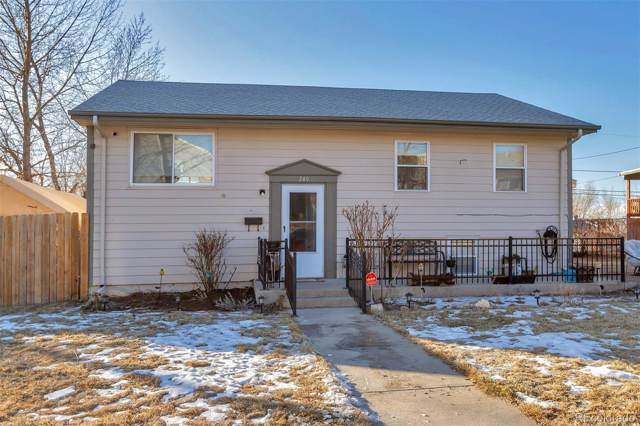 240 W 80th Avenue, Denver, CO 80221 (#9761981) :: The DeGrood Team