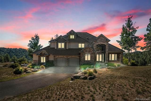 25576 Elk Range Road, Evergreen, CO 80439 (MLS #9764033) :: 8z Real Estate