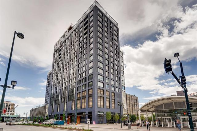 1750 Wewatta Street #1440, Denver, CO 80202 (#9770073) :: 5281 Exclusive Homes Realty