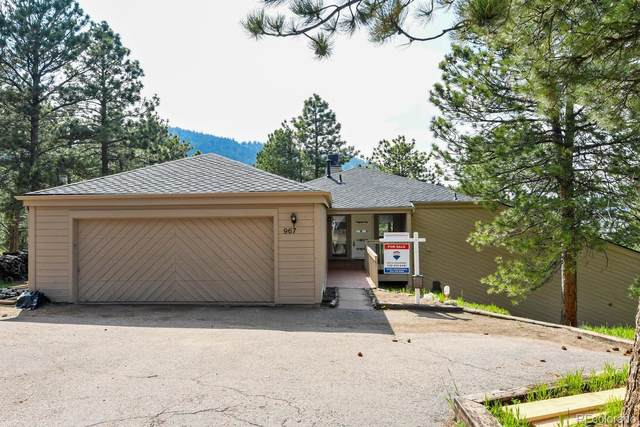 967 Dogwood Drive, Golden, CO 80401 (MLS #9770407) :: 8z Real Estate