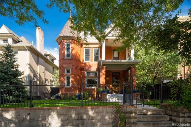 1330 N York Street, Denver, CO 80206 (#9771873) :: The Scott Futa Home Team