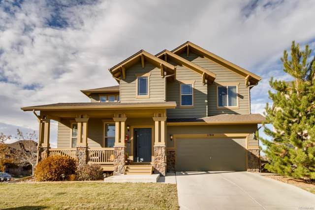 11914 S Meander Way, Parker, CO 80138 (#9779329) :: The Gilbert Group