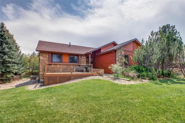 8966 Sunridge Hollow Road, Parker, CO 80134 (#9787674) :: Structure CO Group