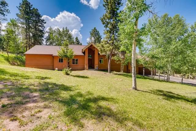 981 Kelleys Road, Woodland Park, CO 80863 (#9788456) :: iHomes Colorado