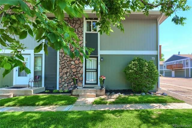 10001 E Evans Avenue 75D, Denver, CO 80247 (MLS #9790523) :: 8z Real Estate