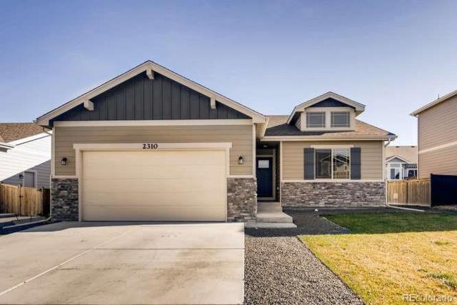 2310 73rd Avenue Court, Greeley, CO 80634 (MLS #9795984) :: Bliss Realty Group