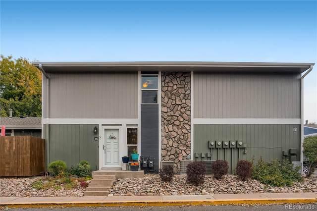 9901 E Evans Avenue 12C, Denver, CO 80247 (#9797261) :: The Harling Team @ HomeSmart